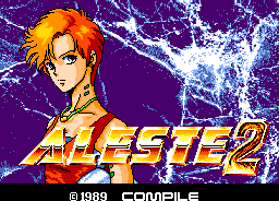 Aleste 2 | アレスタ2 by Compile