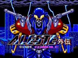 Aleste Gaiden / Aleste Special | アレスタ  外伝 by Compile