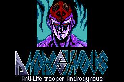 Anti Life Trooper Andorogynous (Androgynus) | 反生命戦機アンドロギュヌス by Telenet