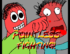 #MSXdev Compo 2014 - Pointless Fighting - Street Fighter II